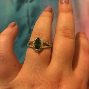 Gorgeous green ring